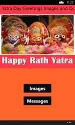 Captura de Pantalla 1 de Rath Yatra Day Greetings Images and Quotes para windows
