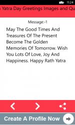 Captura de Pantalla 5 de Rath Yatra Day Greetings Images and Quotes para windows