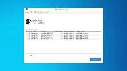 Captura 2 de Stellar Repair for Video para windows
