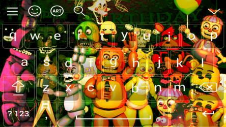 Screenshot 4 de Freddy's keyboard para android
