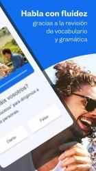 Captura de Pantalla 4 de Aprende a hablar francés con Busuu para android