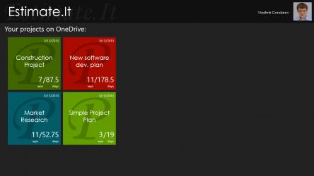 Screenshot 1 de Estimate It para windows