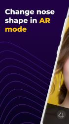 Captura de Pantalla 2 de Nose Shape AR para android