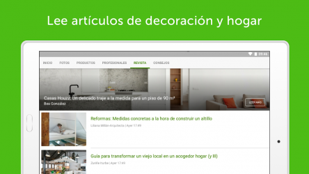 Captura de Pantalla 10 de Houzz Decoración para tu hogar para android