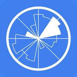 Screenshot 1 de Windy.app - la previsión de viento para android