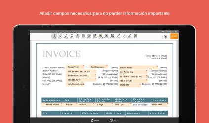 Screenshot 9 de PDFfiller: Editar, Firmar y Rellenar PDF para android