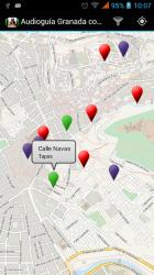 Captura de Pantalla 5 de Audioguia Granada con GPS para android