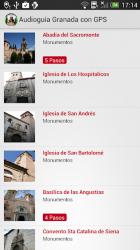 Screenshot 4 de Audioguia Granada con GPS para android