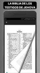 Captura 8 de Biblia de los Testigos de Jehova para android