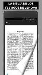 Captura 14 de Biblia de los Testigos de Jehova para android