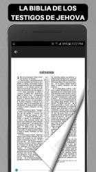 Captura de Pantalla 6 de Biblia de los Testigos de Jehova para android