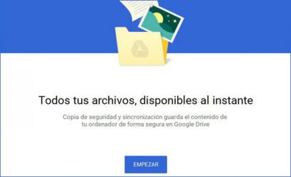 Captura de Pantalla 1 de Google Backup and Sync para windows
