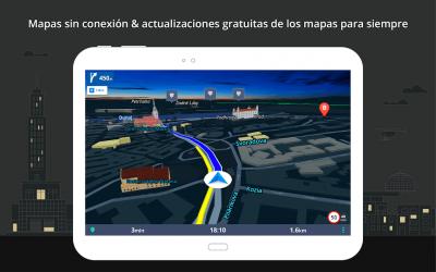 Captura de Pantalla 11 de Sygic GPS Navigation & Offline Maps para android
