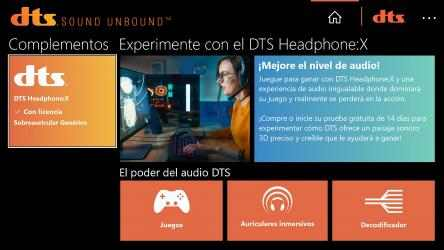 Imágen 7 de DTS Sound Unbound para windows