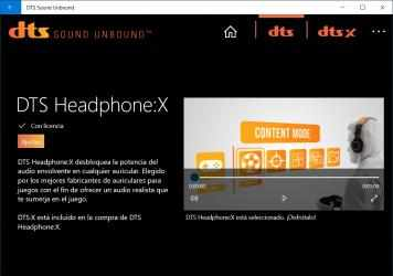 Imágen 3 de DTS Sound Unbound para windows