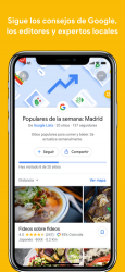 Screenshot 3 de Google Maps - rutas y comida para iphone