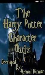 Captura de Pantalla 1 de The Harry Potter Character Quiz para windows