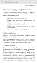 Imágen 5 de Tutorial Microsoft Project for beginners para windows