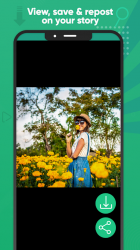 Captura de Pantalla 4 de Ahorro de estado Descargador estado para Whatsapp para android