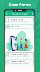 Screenshot 9 de Ahorro de estado Descargador estado para Whatsapp para android