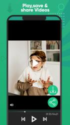 Screenshot 5 de Ahorro de estado Descargador estado para Whatsapp para android