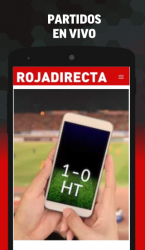 Captura de Pantalla 4 de Tarjeta Roja Directa para android