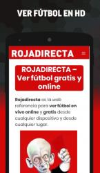Captura 2 de Tarjeta Roja Directa para android
