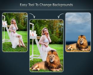 Captura 2 de Cambiar el fondo de la foto para android