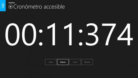 Screenshot 6 de Cronómetro: StopNow Free para windows