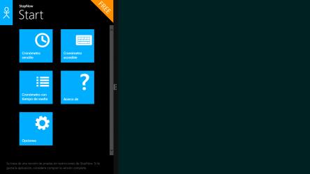 Captura de Pantalla 2 de Cronómetro: StopNow Free para windows