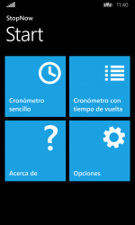 Captura de Pantalla 9 de Cronómetro: StopNow Free para windows