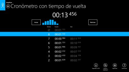 Captura 4 de Cronómetro: StopNow Free para windows