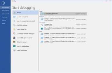 Captura de Pantalla 4 de WinDbg Preview para windows