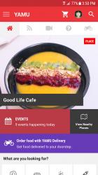 Captura de Pantalla 2 de YAMU - Colombo Restaurants & Reviews para android