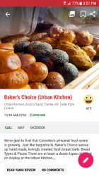Captura de Pantalla 3 de YAMU - Colombo Restaurants & Reviews para android