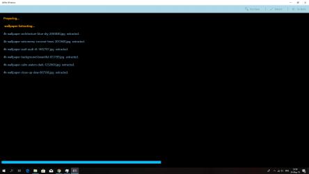 Screenshot 3 de UnRar Metro para windows