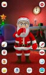 Screenshot 4 de Papa Noel que Habla para android