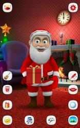 Captura 2 de Papa Noel que Habla para android