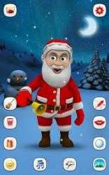 Screenshot 3 de Papa Noel que Habla para android