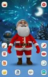 Captura de Pantalla 5 de Papa Noel que Habla para android