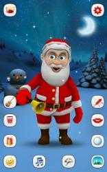 Captura de Pantalla 10 de Papa Noel que Habla para android