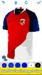 Imágen 7 de Football Shirts Color by Number:Pixel Art Coloring para windows