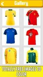 Screenshot 1 de Football Shirts Color by Number:Pixel Art Coloring para windows
