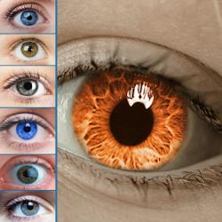Captura 1 de Color de los ojos Cambiador y Estudio de color para android