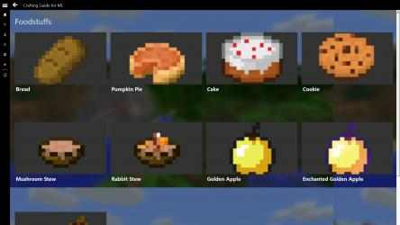 Captura 9 de Crafting Guide for MC para windows