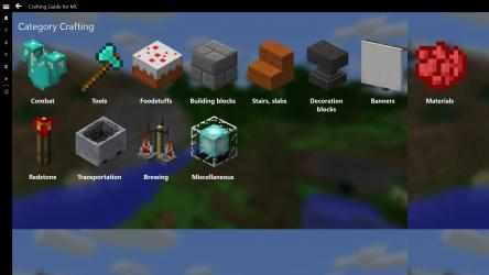 Screenshot 6 de Crafting Guide for MC para windows