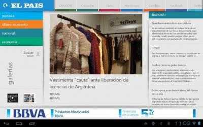 Screenshot 3 de El Pais Uruguay para android