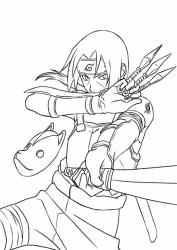 Captura 5 de Cómo dibujar a Itachi para android
