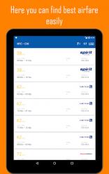 Captura de Pantalla 9 de Vuelos baratos para Spirit Airlines y Low Cost para android