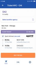 Imágen 4 de Vuelos baratos para Spirit Airlines y Low Cost para android